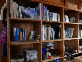 Bibliothek der Trifthütte