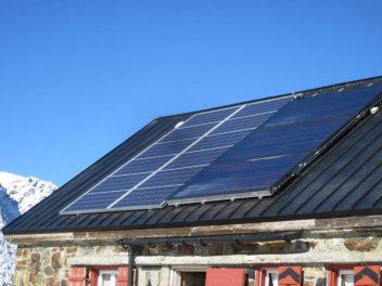 Trifthütte Photovoltaik