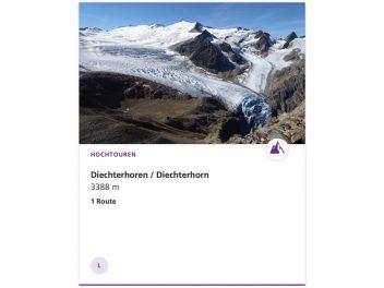 Diechterhorn 3387 m