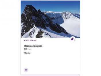 Maasplanggstock 3401 m