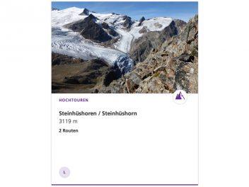 Steinhüshorn 3121 m