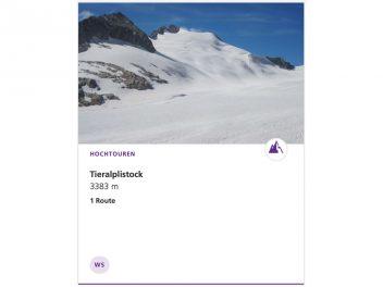 Tieralplistock 3383 m