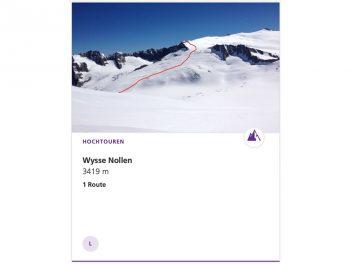 Wysse Nollen 3397 m