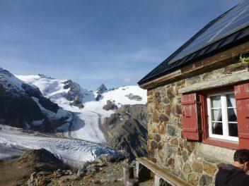 Trifthütte Solaranlage